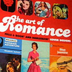"The book ""The Art of Romance"" was published October 30th. It takes a visual look back at the cover designs of Mills & Boon over the last hundred years and the last 60 years of Harlequin..."