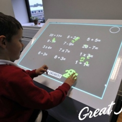 "Durham University in the UK - ""interactive multi-touch desk"" is a major part of the SynergyNet framework, an interactive classroom environment based on a gaming engine called jMonkey."