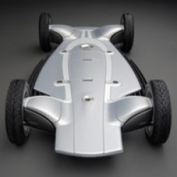 """The """"Skateboard"""" car concept is brilliant. A simple chassis giving the owner the ability to change the """"shell"""" of the car when ever they want. Hydrogen powered with 4 electric motors. I love it! Check out the video!"""