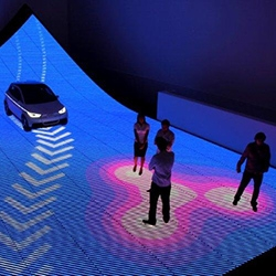 BIG + Kollision + Schmidhuber & Partner team up to bring BIG's vision of future urban mobility to life for AUDI at Design Miami/ 2011.
