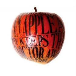 Typography meets fruit at Balla Dora Typo-grafika.