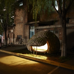 A new cheap way to live in Beijing with Egg Style House, designed by Dai Haifei.