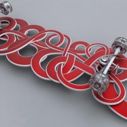 IPSVM skateboard design by Loren Kulesus