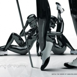 """5 Amazing commercials & 5 prints ads from the """"Melissa Plastic Dreams"""" campaign for Melissa shoes including their Zaha Hadid collaboration. It's plastic fantastic!"""