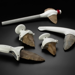 Ami Drach and Dov Ganchrow created a series of tools that revisit humanity's oldest artifacts in a modern context