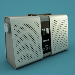 Mårten Andersson designed SHA_RED, wireless speaker/radio.