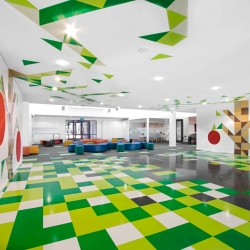 An engaging new learning environment for St Mary's Primary School, Victoria, Australia. Designed by smith+tracey Architects.