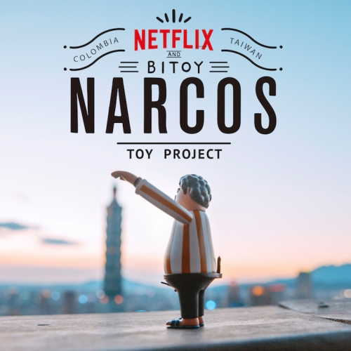 Netflix X Bitoy: Narcos Toy Project. Taipei-based design-driven film and animation studio, Bito, announces their new cooperation with Netflix's Narcos. A series of Pablo Escobar Toys around Taipei.