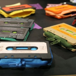 speaking of cassette tapes, check out the marcella foschi cassette wallets at the designboom shop.
