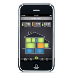 CURRENT STATE: A conceptual mobile application to monitor and control energy usage in your home.