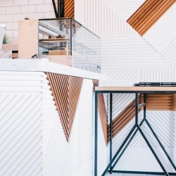 Juice Served Here, designed by Bells & Whistles, opened the doors to their flagship store this fall on West 3d Street in Los Angeles.