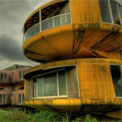 The amazing, abandoned resort of San Zhi in Taiwan.