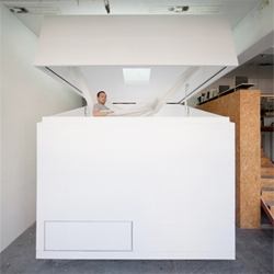 Schemata Architecture's Paco cube - a 3x3x3m portable home for transient living.