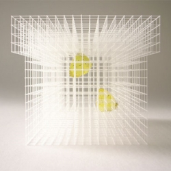 just in time for summer. Architect Ryuji Nakamura's insect cage. part of the art & eco 2009 show in Japan.