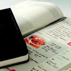 """""""Moleskine Passions"""" is a new series of themed notebooks by Molekine. Different lifestyles, different passions; just choose yours:  Recipes, Wine, Book, Film, Music and Wellness..."""