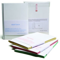 Start Here - linkable, customizable notebooks from Little Fury.