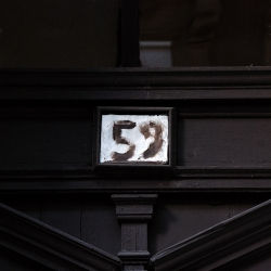 Daily street number from 1 to 356 by Zsutti.