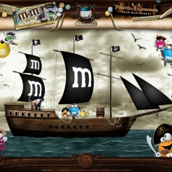 PIRATE M&M's have some great graphic design, fun webisodes, and GREAT ICONS!!!