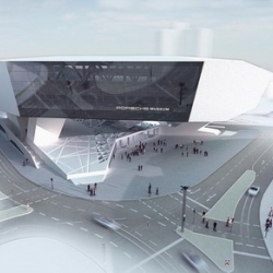 Porsche Museum Is taking Shape and I for one will be there opening day, Amazing building!!
