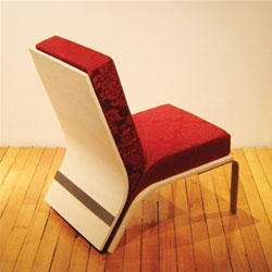 The Upholstered Chair from Keeseh Studio.