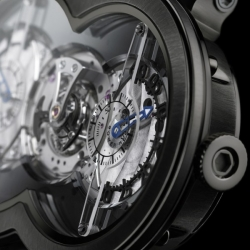 Horological Machine No1 is an extremely sophisticated timepiece on many levels: visually, technically and emotionally.