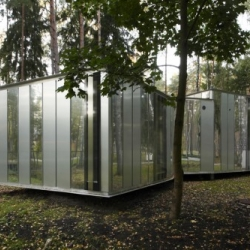 Latvian practice Substance has just completed this visitors centre in the Dzintari Forest park in the centre of Jurmala.