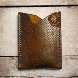 Gorgeous, limited edition, leather wallets from Makr.