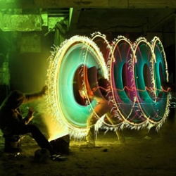 Jan Wöllert and Jörg Miedza, from Bremen, Germany, are the creators of these amazing light paintings.