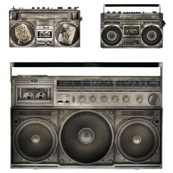 Lyle Owerko's photographs from The Boombox Project catalog the iconic, visually beautiful ghetto-blaster.
