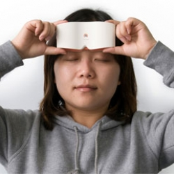 Chueh Lee of Samsung China designed the Touch Sight - the first digital camera for the visually impaired. Features include 3 seconds of recorded sound as an image reference, and a flexible Braille display sheet that displays a 3D image.