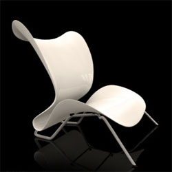 Sebastian Gronemeyer's Orchid Chair.