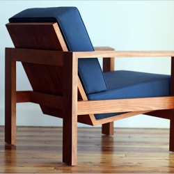 Father/Son Furniture Design team John and Andrew Raible. Featured in NYTimes.