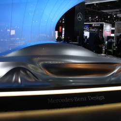 Mercedes unveils their newest concept-a-la-sculpture. ENJOY!