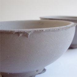 Concrete tableware from Alexa Lixfeld.