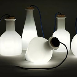 Labware lamps - just one product from Benjamin Hubert's newest line debuting at 100% Futures next week.