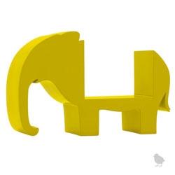 Very cute elephant bookshelf from DwellStudio Baby.
