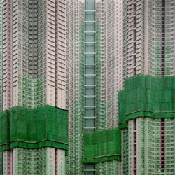 "Beautiful photography portfolio by Michael Wolf. I especially love his series ""Architecture of Density"" from which this photo was taken."