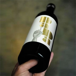 Gorgeous bottle design for Dada wines by InHouse Design.