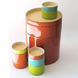 Ekobo mixes ecology and design with their new line of bamboo tableware.