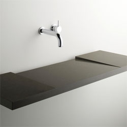 Interesting Geo Washplane sink by Omvivo. I love the clean lines, but would be curious to use one myself to see how well it functions.