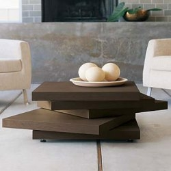 """The Rotor Coffee Table is a wonderful combination of minimalism and versatility."""
