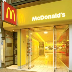 Spence Harris Hogan have rebranded a few of the UK's McDonald's restaurants with very sleek and modern interiors. I wish US McDonald's could get a face lift.