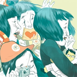 Beautiful illustrations by Jillian Tamaki.