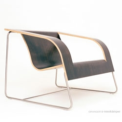 David Granger of Bang Design's very lovely Pli furniture series.