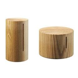 Simple Koin Wood Banks.