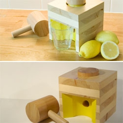 Edward Horsford's Industrial-Strength Lemon Squeezer. I like its simplicity.