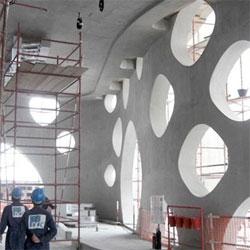 Designboom has construction photos of Reiser+Umemoto's 0-14 tower in Dubai.