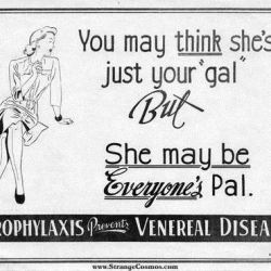"Some really... um... ""interesting"" ads from the 1930's Makes you wonder, what on earth were they smoking those days ?!"