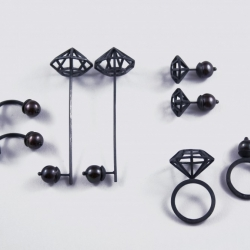 Betty+Cash jewelry pieces are playful and kinetic for people with fiddle fingers or who had a Lego building childhood