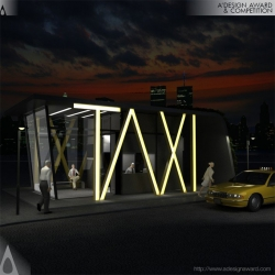 Taxi Taxi Station by Hakan Gürsu is Golden A' Design Award Winner in Architecture, Building and Structure Design Category, 2011 - 2012.